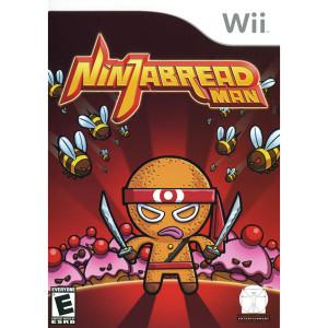 Ninjabread Man Video Game for Nintendo Wii
