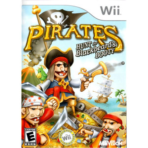 Pirates: Hunt for Blackbeard's Booty Video Game for Nintendo Wii