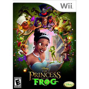 Princess and the Frog Video Game for Nintendo Switch