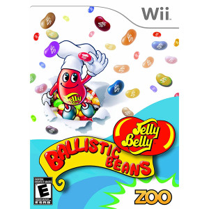 Jelly Belly Ballistic Beans Video Game for Nintendo Wii