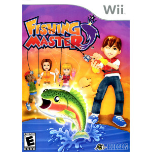 Fishing Master Video Game for Nintendo Wii