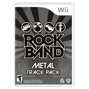 Rock Band Metal Track Pack Video Game for Nintendo Wii