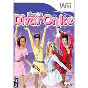 Diva Girls Divas On Ice Video Game for Nintendo Wii