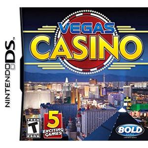 Vegas Casino Video Game for Nintendo DS