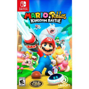 Mario + Rabbids Kingdom Battle Video Game for Nintendo Switch