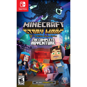Minecraft Story Mode: The Complete Adventure Video Game for Nintendo Switch