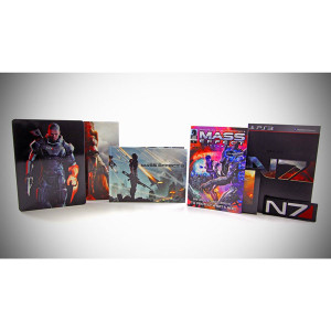 Complete Mass Effect 3 N7 Collector's Edition Bundle PS3 Game