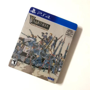 Valkyrie Chronicles Remastered (Steelbook) Video Game for Sony PlayStation 3