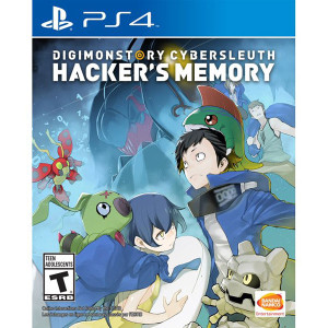 Digimon Story Cybersleuth Hacker's Story Video Game for Sony PlayStation 4