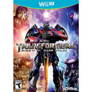 Transformers Rise of the Dark Spark Video Game for Nintendo Wii U