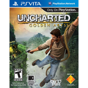 Uncharted Golden Abyss Video Game for Sony PlayStation Vita
