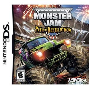 Monster Jam Path of Destruction Video Game for Nintendo DS