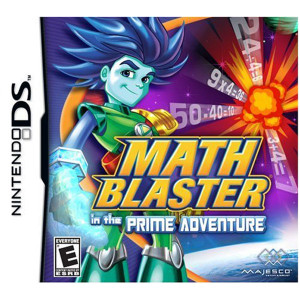 Math Blaster in the Prime Adventure Video Game for Nintendo DS