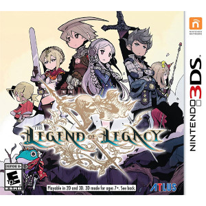 Legend of Legacy Video Game for Nintendo 3DS