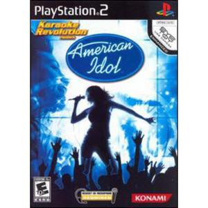 Karaoke Revolution Presents American Idol Video Game for Sony PlayStation 2