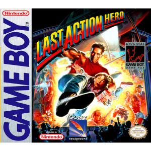 Last Action Hero Video Game for Nintendo Game Boy