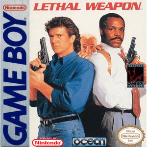 Lethal Weapon Video Game for Nintendo Game Boy