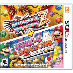 Puzzle & Dragons Z + Puzzle & Dragons Mario Ed. Video Game for Nintendo 3DS