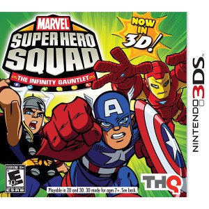 Marvel Super Hero Squad The Infinity Gauntlet Video Game for Nintendo 3DS