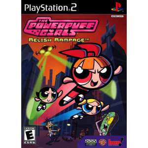 Powerpuff Girls Relish Rampage Video Game for Sony PlayStation 2