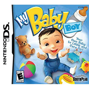 My Baby Boy Video Game for Nintendo DS
