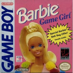 Barbie Game Girl Video Game for Nintendo GameBoy
