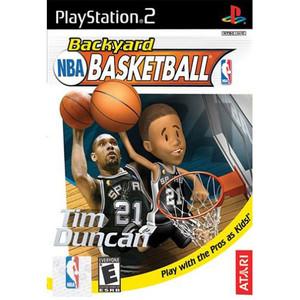 Backyard NBA Basketball Video Game for Sony PlayStation 2
