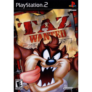 Taz Wanted Video Game for Sony PlayStation 2
