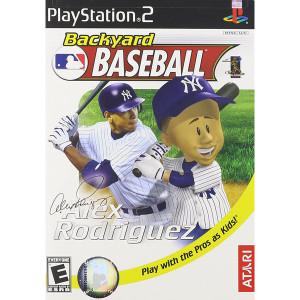 Backyard MLB Baseball Video Game for Sony PlayStation 2