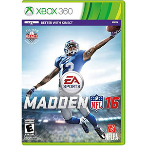 Madden 16 Video Game for Microsoft Xbox 360