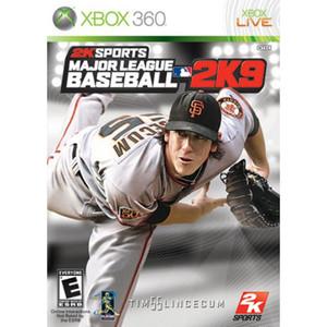Major League Baseball 2K9 Video Game for Microsoft Xbox 360