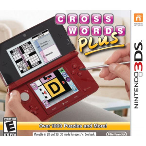 Crosswords Plus Video Game for Nintendo 3DS