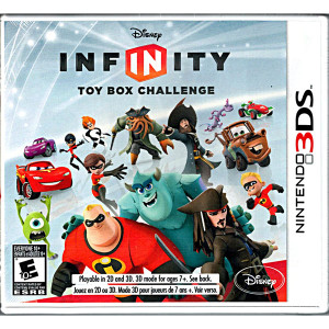 Infinity Toy Box Challenge Video Game for Nintendo 3DS