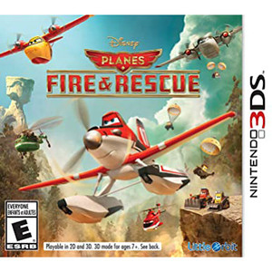 Planes Fire & Rescue Video Game for Nintendo 3DS
