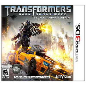 Transformers Dark of the Moon Stealth Force Edition Video Game for Nintendo 3DS
