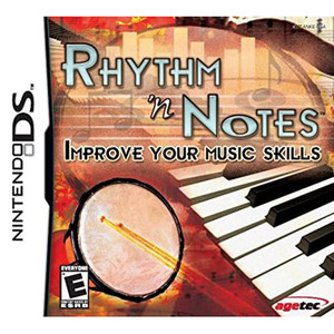 Rhythm 'n Notes Video Game for Nintendo DS