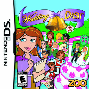 Wedding Dash Video Game for Nintendo DS