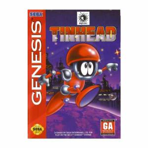 Complete Tinhead Video Game for Sega Genesis