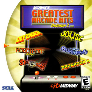 Midway's Greatest Arcade Hits Volume 1 Video Game for Sega Dreamcast
