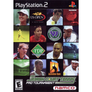Smash Court Tennis Pro Tournament Video Game for Sony PlayStation 2