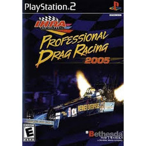 IHRA Professional Drag Racing 2005 Video Game for Sony PlayStation 2