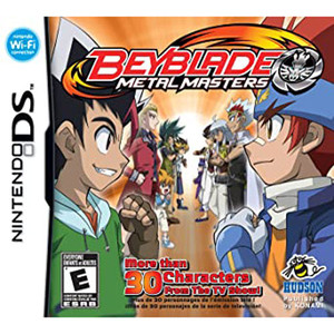 Beyblade Metal Masters Video Game for Nintendo DS