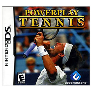 Powerplay Tennis Video Game for Nintendo DS