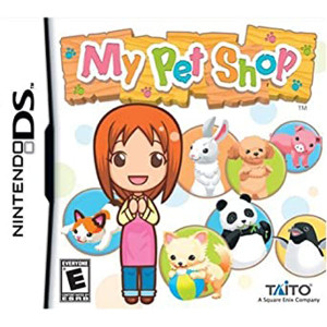 My Pet Shop Video Game For Nintendo DS