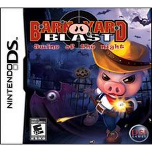 Barn Yard Blast Swine of the Night Video Game For Nintendo DS