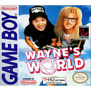 Wayne's World Video Game For Nintendo GameBoy