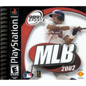 MLB 2002 Video Game For Sony PS1