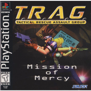 T.R.A.G. Video Game For Sony PS1