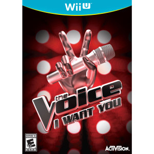 Voice I Want You Video Game For Nintendo WiiU