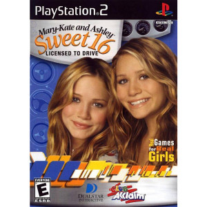 Mary-Kate and Ashley Sweet 16 Video Game For Sony PS2